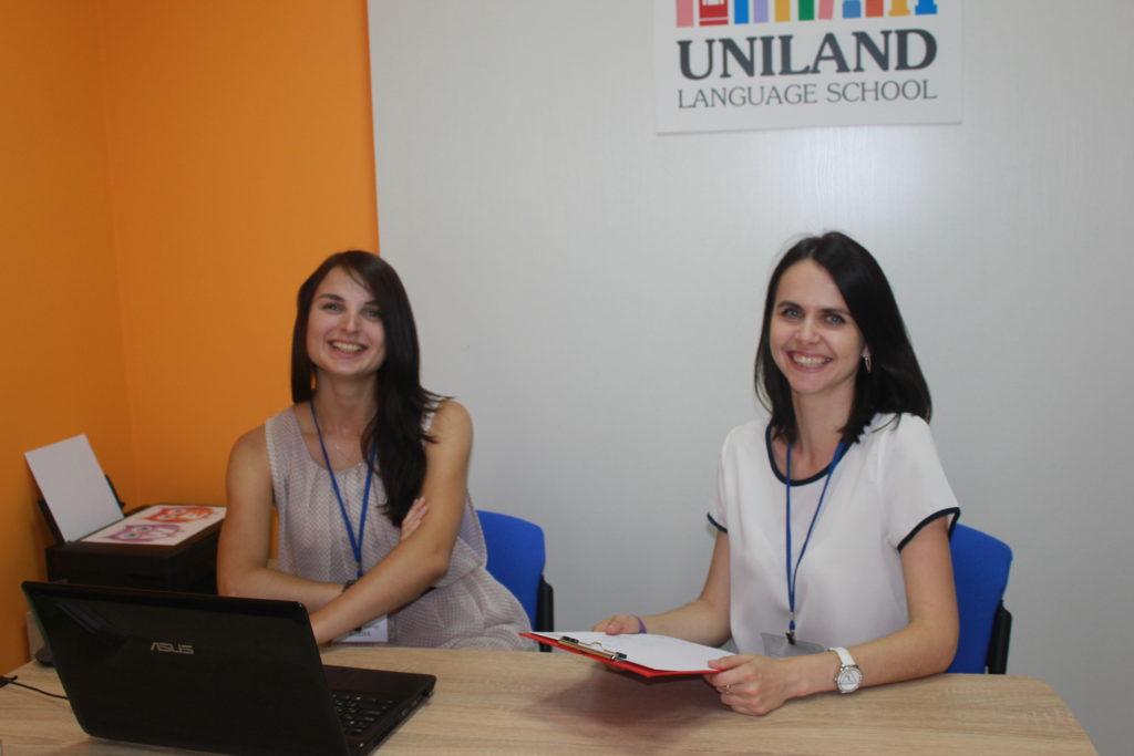 Преподаватели школы английского языка UNILAND
