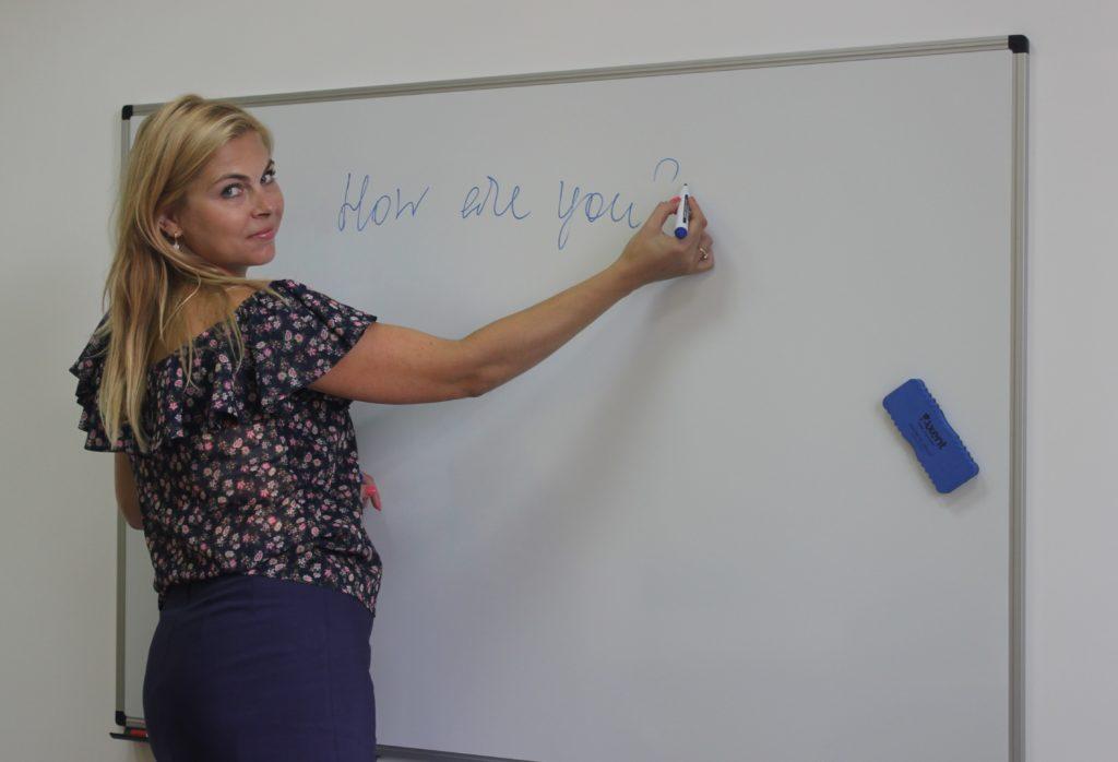Преподаватель английского языка языковой школы UNILAND